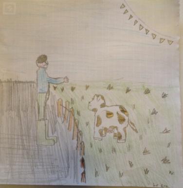 Koe en Boer